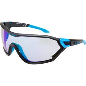 Alpina S-Way VLM+ Occhiali da sole, nero/blu